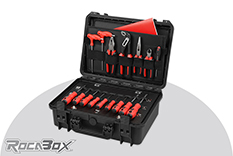 Rocabox - Waterproof IP67 Tool Case - Black - RW-4229-16-BT - Tool Holder