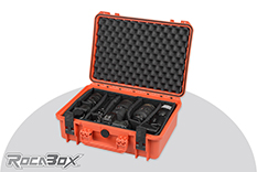 Rocabox - Waterproof IP67 Camera Case - Orange - RW-4229-16-OC - Padded Inlay