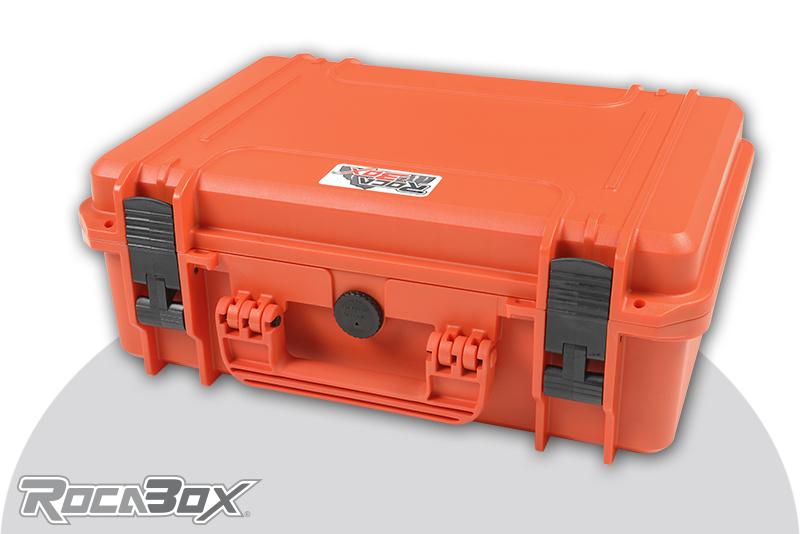 Rocabox - Waterproof IP67 Universal Case - Orange - RW-4229-16-OF - Cubed Foam
