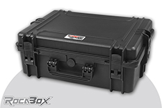 Rocabox - Waterproof IP67 Universal Case - Black - RW-5035-19-B