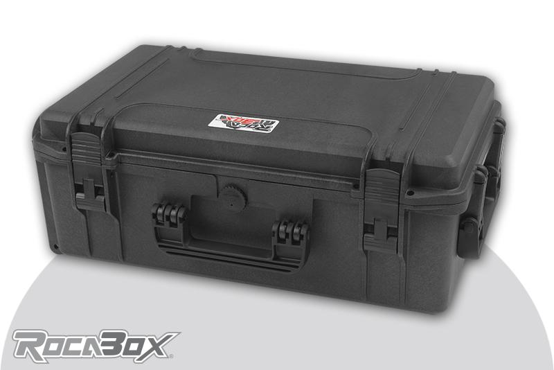 Rocabox - Waterproof IP67 Universal Case - Black - RW-5229-20-BF - Cubed Foam