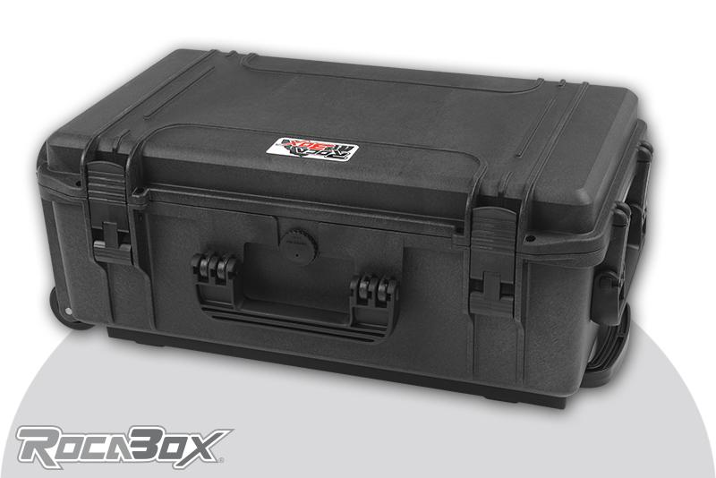 Rocabox - Waterproof IP67 Universal Trolley Case - Black - RW-5229-20-BFTR - Cubed Foam