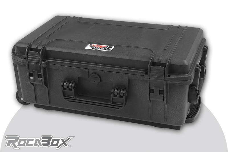 Rocabox - Waterproof IP67 Universal Trolley Case - Black - RW-5229-20-BTR