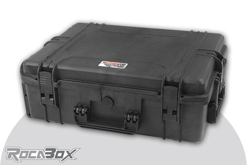 Rocabox - Waterproof IP67 Universal Case - Black - RW-5440-19-B