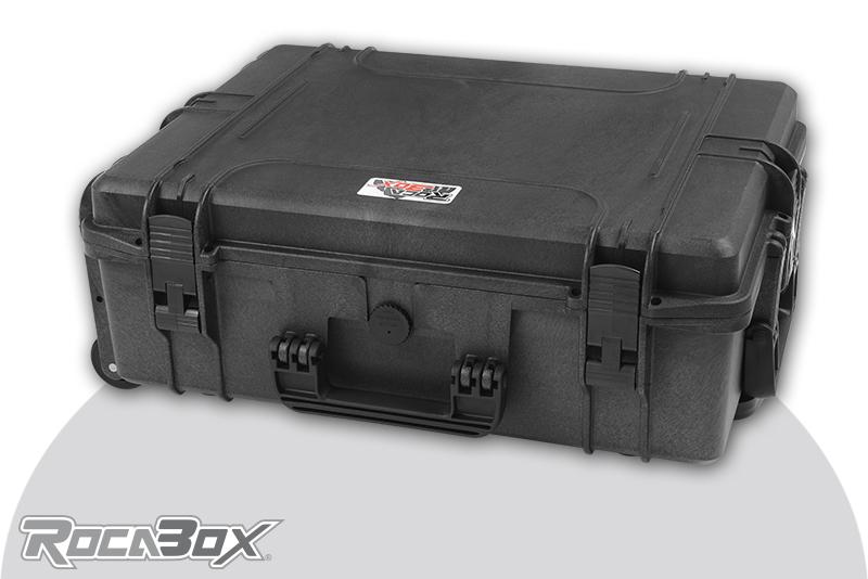 Rocabox - Waterproof IP67 Universal Trolley Case - Black - RW-5440-19-BFTR - Cubed Foam