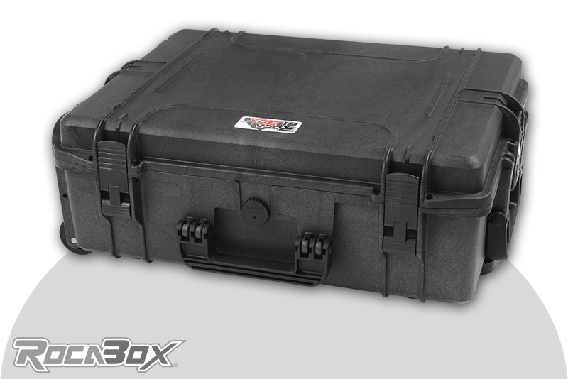 Rocabox - Waterproof IP67 Universal Trolley Case - Black - RW-5440-19-BTR