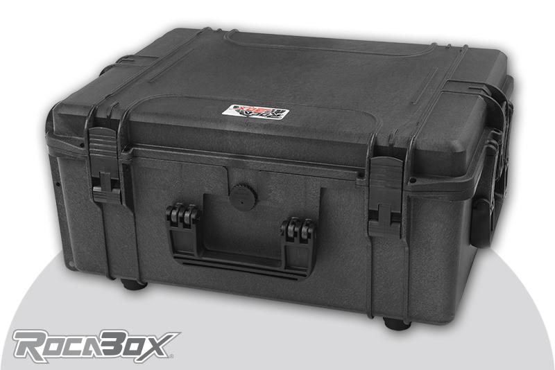 Rocabox - Waterproof IP67 Universal Case - Black - RW-5440-124-BF - Cubed Foam