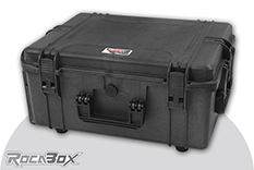 Rocabox - Waterproof IP67 Universal Case - Black - RW-5440-124-BF - Cubed Foam