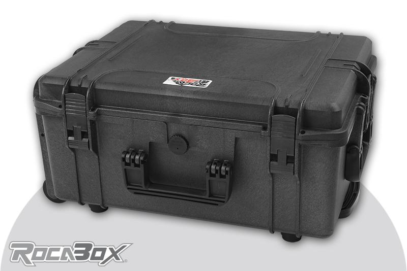 Rocabox - Waterproof IP67 Universal Trolley Case - Black - RW-5440-24-BTR