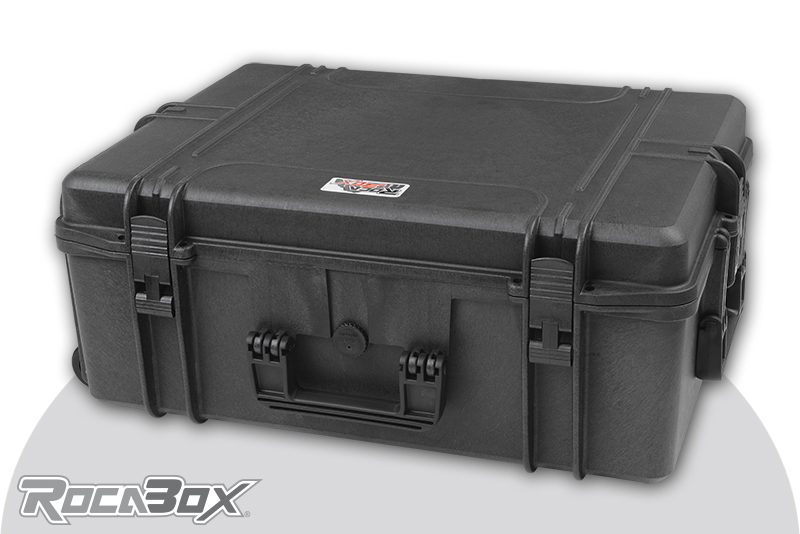 Rocabox - Waterproof IP67 Universal Case - Black - RW-6246-25-BF - Cubed Foam