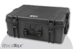 Rocabox - Waterproof IP67 Universal Trolley Case - Black - RW-6246-25-BFTR - Cubed Foam