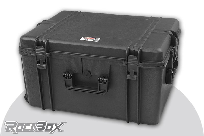 Rocabox - Waterproof IP67 Universal Case - Black - RW-6246-34-B