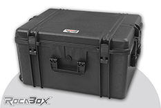 Rocabox - Waterproof IP67 Universal Case - Black - RW-6246-34-BF - Cubed Foam