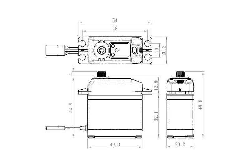 Savox - Servo - SA-1230SG - Digital - Coreless Motor - Steel Gear