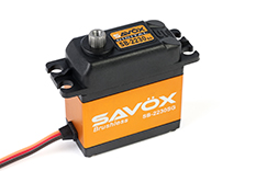 Savox - Servo - SB-2230SG - Digital - High Voltage - Brushless Motor - Steel Gears
