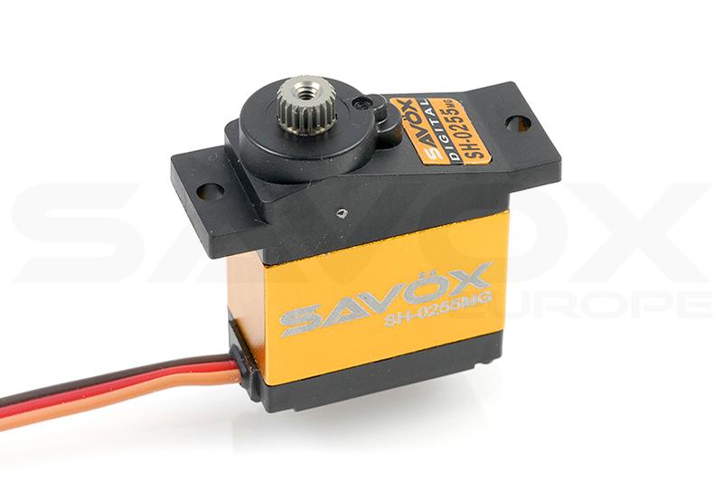 Savox - Servo - SH-0255MG - Digital - DC Motor - Metal Gear