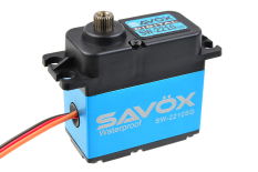 Savox - Servo - SW-2210SG - Digital - High Voltage - Brushless Motor - Waterproof - Steel Gear