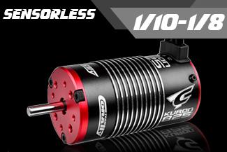 1/10 - 1/8 RTR Motors - Sensorless